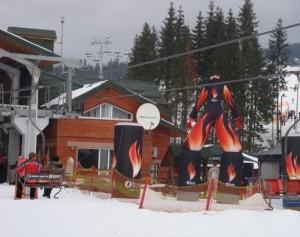 BURN Буковель 2009-2010. Зимнее спортивное промо.