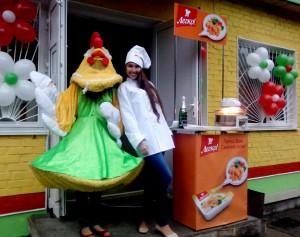 Открытие фирменных магазинов «Наша Ряба» по Украине.